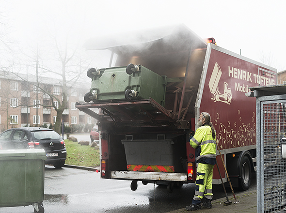 containervask vaskebil